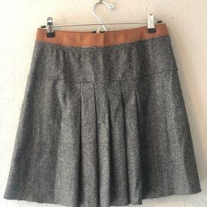Dolce & Gabbana (D&G) tweedy, pleated mini skirt